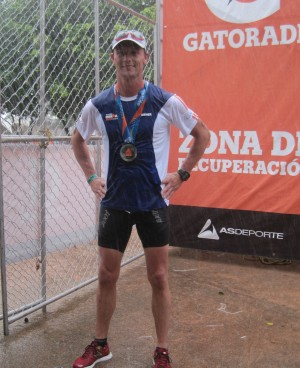 Dwayne is finished Ironman Cozumel 70.3